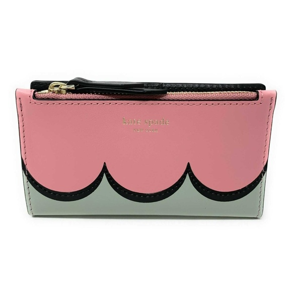 Kate Spade Handbags - Kate Spade Intarsia Scallop Small Bifold Wallet